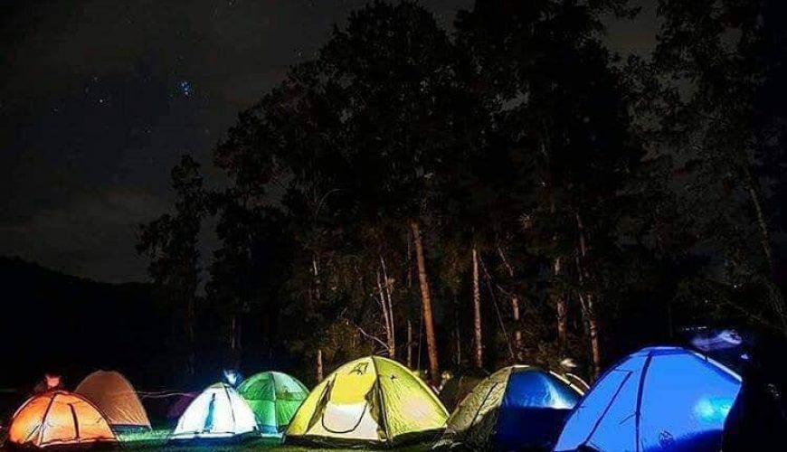 camping chorro de giron
